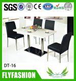 Стеклянные верхние обедая стулы таблицы или журнального стола (OD-190A)