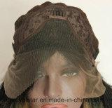 Di modo di pendenza dei capelli della parte anteriore del merletto dei capelli parrucca sintetica riccia lungamente