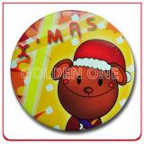 Großhandelsförderung-Geschenk-farbenreiches gedruckte Tasten-Abzeichen