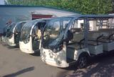 Малая шина 14 пассажиров электрическая с батареей