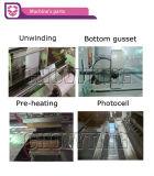 Sac en plastique automatique de découpage de thermocollage de première vente faisant la machine