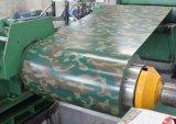 Acero galvanizado sumergido caliente prepintado acanalado del material de hoja del material para techos