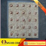 Mattonelle di mosaico di pietra naturali della decorazione del materiale da costruzione (MS305B-03)