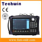 La mesure de micro-ondes Techwin est égale à Anritsu et à l'analyseur d'antenne
