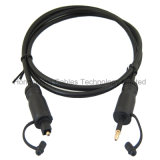 Cable audio blanco de Toskink con el molde del PVC