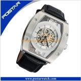 Het nieuwe Horloge van Mechancial&Automatic Leer van het Bedrijfs van de Stijl Echte