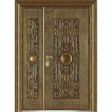 Porta exterior de bronze