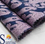 Tela Yarn-Dyed del telar jacquar del algodón para la ropa