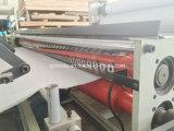 Máquina de papel de toalha de cozinha do rebobinamento com colagem da gravação
