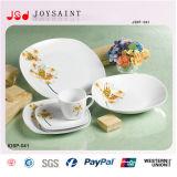 El mejor conjunto de cena cuadrado de la porcelana de la dimensión de una variable de la calidad 20PCS
