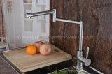 Nouveau robinet flexible d'évier de cuisine d'acier inoxydable (HS15008)