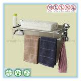 Barre fixée au mur de longeron d'essuie-main de cuvette d'aspiration d'accessoires de salle de bains
