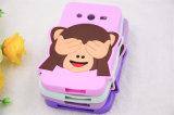 Покройте случай сотового телефона силикона обезьяны глаз (XSDW-009)