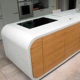 주문을 받아서 만들어진 사무용 가구 인공적인 돌 사무실 테이블