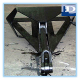 La Cina Supplier Delta Flipper Anchor con CCS, ABS, LR, Gl, BV,