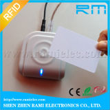 USB 13.56MHz NFC RFIDのDesfiveデスクトップのスマートカードの読取装置著者