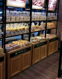 Qualitäts-nach Maß hölzerner Art-Brot-Verkaufsmöbel-Schaukasten