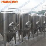 Depósito de fermentación del almacenaje de la cerveza para la cerveza