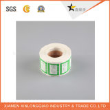 Etiqueta engomada auta-adhesivo impresa vinilo modificada para requisitos particulares del conjunto de la impresión de la escritura de la etiqueta de la impresora