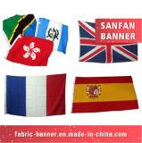 Progettare la bandiera per il cliente di stampa del tessuto di scambio di calore