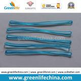 PVC 루프를 거는 밝은 투명한 파랑 2.5X150mm 주문 여행 꼬리표
