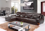 Ledernes Sectional Wohnzimmer Sofa für Leather Sofa Furniture