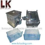 Plástico de la Inyección del Cajón del Refrigerador Que Moldea con Salida Rápida