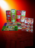 Alto Barrier Plastic Metalized Food Packaging Film in Roll, Laminated Film per Chocolate Packaging