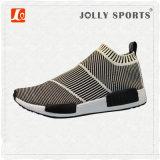 Pattini correnti di svago respirabile del Knit della scarpa da tennis per gli uomini delle donne