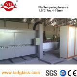 Máquina de moderação de vidro da fornalha do tamanho pequeno horizontal elétrico