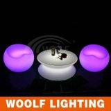 LED 가구의 커피용 탁자