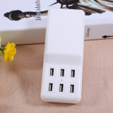 12A Desktop 6 Port Multi USB Charger com cabo de 1,5 m