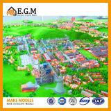 Модели промышленных и мастерской/модели выставки/модель здания проекта
