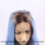 Nuovi di modo della parte anteriore del merletto della parrucca capelli sintetici diritti lungamente