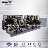 Compresor de alta presión sin aceite del Portable de aire del pistón de los aumentadores de presión (K2-42WZ-6.00/8/40)