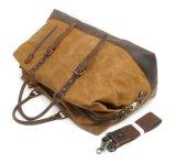 Кожа Cowhide помытый мешок сумки ткани холстины кожаный ся (RS-831-2)