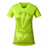 Señoras al por mayor o Mujeres Jersey con cuello en V T-Shirts