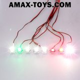 911011-High Power 3W Flight Simulated e Flashing Light System LED Light per RC Fisso-Wing