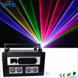 luce laser della discoteca di 15W RGB Full Colors Animation