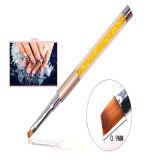 Кристаллический внимательность искусствоа ногтя ручки оборудует кристаллический комплект щетки геля