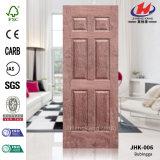 Панель двери MDF Veneer дуба твердой древесины HDF/MDF EV