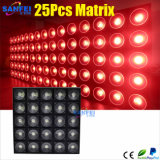 DEL Effect Light 25 * 30W DEL Matrix Light