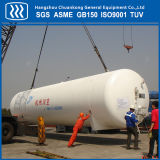 Tanque de armazenamento criogênico padrão do nitrogênio do CO2 do oxigênio líquido de ASME