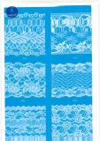 Laço largo ordinário para a roupa/vestuário/sapatas/saco/caso 3095 (largura: 7cm)