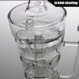 Новая 2017 куря труб барботера 14.4mm буровых вышек стога Sundae Hitman труб водопровода стеклянных мыжских совместных стеклянных