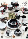 사랑스러운 비스무트 Color Glazed Coffee Cup 및 Coffee Cup & Saucer