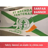 Bandeira feita sob encomenda da impressão da alta qualidade grande ao ar livre do tamanho