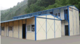 Het Frame van de Structuur van het staal met EPS het Comité van de Sandwich