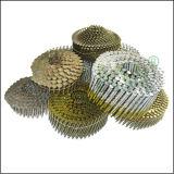Pregos pneumáticos galvanizados da telhadura para a telhadura