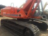 Máquina escavadora usada de Hitachi Ex200-1, máquina escavadora usada da roda de Hitachi